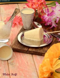 Recipes for Kids, 2400 Indian Recipes for Kids, Tarla Dalal Kulfi Recipe Condensed Milk, Condensed Milk Desserts, Bavarois Recipe, Chocoflan Recipe, Indian Recipes For Kids, Indian Dessert Recipes, Indian Sweets, Malai Kulfi Recipe, Recipe Using Milk