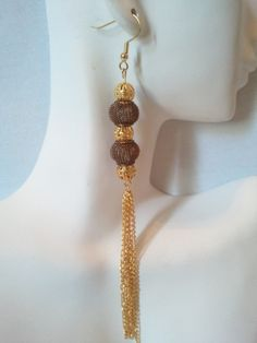 Dangling Basketball Wives Earrings by AttayMik on Etsy, $6.00