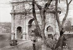 Via di San Gregorio – Arco di Costantino Anno: 1900 ca.
