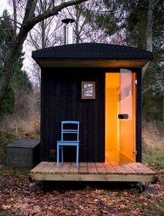 Finland (sauna house maybe?)
