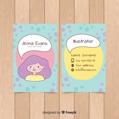 Free Business Card Templates, Cute Business Cards, Fashion Business Cards, Artist Business Cards, Vintage Graphic Design, Graphic Design Posters, Visiting Card Design, Presentation Cards, Name Card Design