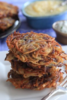 A Delicious Vegan Spin on the Traditional Hanukkah Latke Recipe