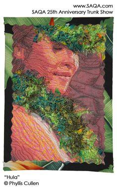 Art quilt by Phyllis Cullen