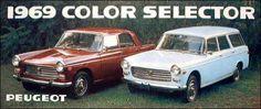 Peugeot 504 - colorguide (1969)