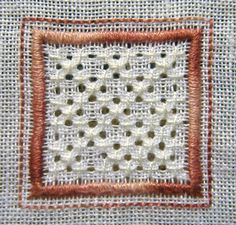 Whitework Embroidery: 15 Sided Biscornu - Free Patterns