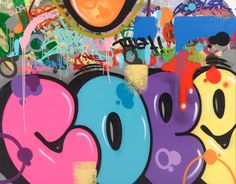 Graffiti History, Street Art Graffiti, Wildstyle, Blue Abstract, Character Ideas, American Artists, Ideas Para, Pop Art, Art Pieces