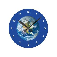 #customized - #Respect Future Planet Earth Clock