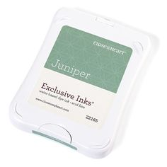 Close To My Heart Z2165 Juniper Exclusive Inks™ Stamp Pad - new packaging; color not retiring on July 31, 2016