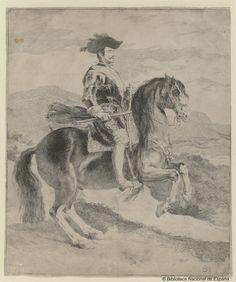 Francisco Goya after Velasquez. Felipe IV. Rey de España | by Biblioteca Nacional de España