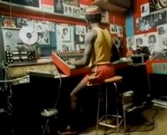 Lee Perry At Black Ark studio. Lee Perry, Spiritual Music, Music Images, Reggae Music, Band Photos, Cd Cover, Recording Studio, Graphic Design Posters, Bob Marley
