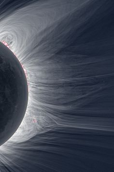 """See a total solar eclipse. [Detailed View of a Solar Eclipse Corona """"Only in the fleeting darkness of a total solar eclipse is the light of the solar corona easily visible. Cosmos, Across The Universe, Space And Astronomy, Hubble Space, Space Photos, Carl Sagan, Space Time, Our Solar System, To Infinity And Beyond"""