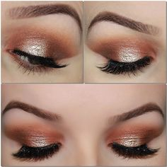 In this post I am sharing a look I created with the amazing Morphe 35O Palette, warm tones central!This look is a slight spotlight/halo eye, which I am loving atm. Enjoy! By applying the transitio