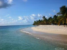 Bella vista de Cayo Sombrero en Morrocoy