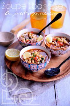 Soupe Libanaise Au Poulet & Pois Chiches •