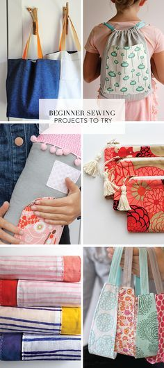 Try some of these favorite beginner sewing projects | Sewing Projects