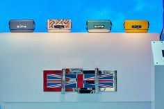 The Fendi pre-fall 15 collection displayed at the special pop-up store in Harrods.