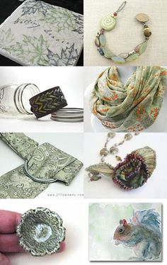 Soft Autumn Greens... Sage, Moss, Olive by Nicole Planchon on #Etsy