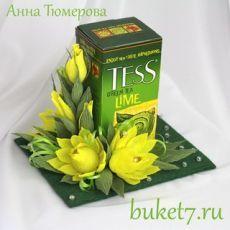 Приглашаем на обучение. Мастер-классы, семинары и вебинары по букетам и композициям из конфет от студии - Buket7.ru