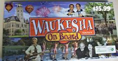 Waukesha County Board Game. A real estate trading game where the richest player at the end of is the winner.  Available for purchase at Country Springs Hotel's Gift Shop. http://www.countryspringshotel.com/