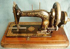 Bradbury's Family High Arm. c 1896