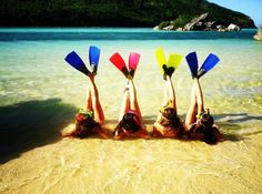 This is the cutest idea! expecially for me and my swimmer friends!:)