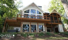 Lake Cabin House Plans | ... new lake style house plan the walker s cottage plan number 11137 with