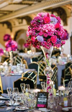 Elegant tablescape at a #Chicago #wedding