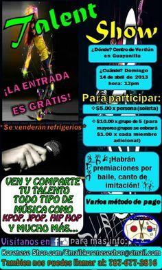 Talent Show @ Guayanilla Talent Show, Puerto Rico, Comic Books, Comics, Cover, Dancing, Activities, Cartoons, Cartoons
