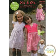 Xs and Os - Sewing Pattern by Olive Ann Designs  (OAD91)