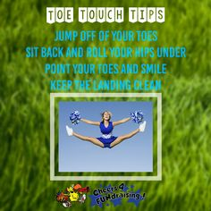 Some tips to improve your toe touches and impress those judges! #protip