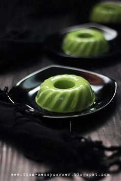 Matcha Green Tea Pudding | My life, my love, my food