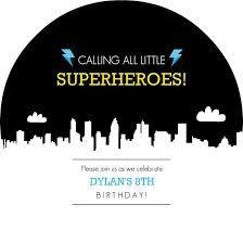 Th Birthday Party Invitation Birthday Invitations Pinterest - Superhero birthday invitation free template