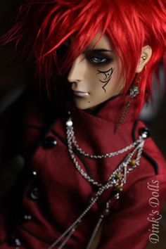 I like that he is darker colored, similar to myself, and he has darkness around his eyes. Inspiration.