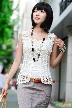 Crochetemoda: Outubro 2011