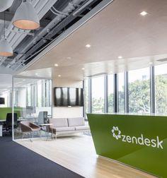 Zendesk office by Blitz, Dublin – Ireland