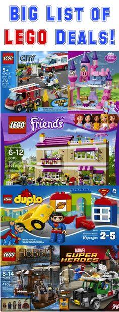 BIG List of LEGO Deals!!