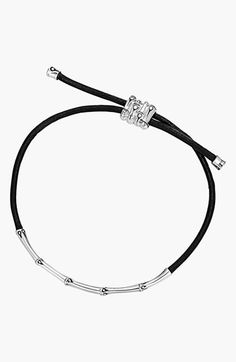 John+Hardy+'Bamboo'+Slim+Cord+Bracelet+available+at+#Nordstrom