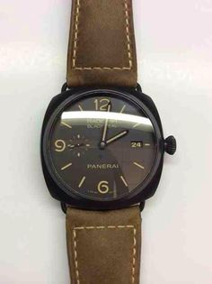 Panerai PAM 505 - $6900 Watches, Leather, Accessories, Fashion, Wrist Watches, Moda, Tag Watches, Watch, Fasion