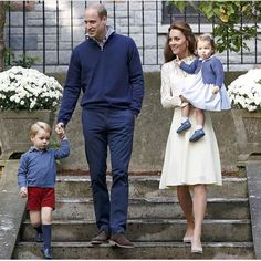 William, Catherine and children George and Charlotte in Canada