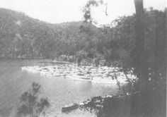 In 1942, with fears of a Japanese invasion at their height, Operation Berowra Boat Guard was launched. The boats of the Lower Hawkesbury were impounded and hidden at Crosslands Reserve to make it difficult for an enemy force to cross the river. Unfortunately heavy rain led to flooding and the destruction of many of the boats.