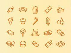 Бесплатные аппетитные иконки