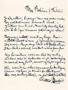 Ma bohême (Arthur Rimbaud)