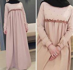 Modest Fashion Hijab, Modern Hijab Fashion, Islamic Fashion, Abaya Fashion, Muslim Fashion, Fashion Dresses, Dress Muslim Modern, Modern Islamic Clothing, Muslim Dress