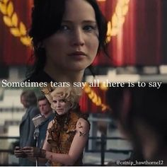 Catching fire #tears