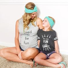 Mama and me headbands from LemonBerry Designs