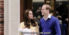 10 hrs after giving birth to Princess Charlotte Elizabeth Diana the proud parents introduced her to the world!