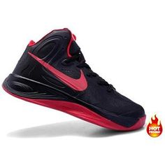 size 40 4701f 8ad5c Jeremy Lin shoes Zoom Hyperfuse 2012 Sport Black Rio Red 487638 002