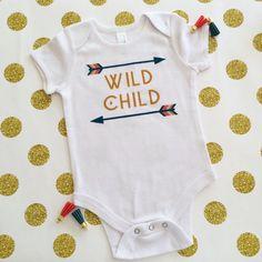 Hey, I found this really awesome Etsy listing at https://www.etsy.com/listing/243716726/wild-child-boho-baby-onesie-baby-girl