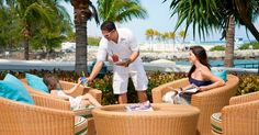 ONE Bal Harbour Resort Spa in Miami Beach Florida - Kid friendly menus at the Pool Bar Grill