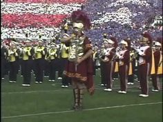 USC Trojan Marching Band | The Star Spangled Banner dir. by John Williams (2004 Rose Bowl) - YouTube -- I remember I wasn't expecting what happened at 1:46 and it -quite literally- took my breath away for a couple measures. Also, what the hell with the time signatures, John?